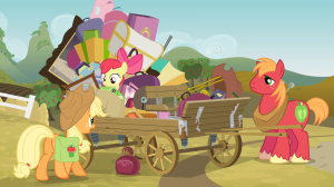 1000px-Applejack_and_siblings_by_wagon_S4E09